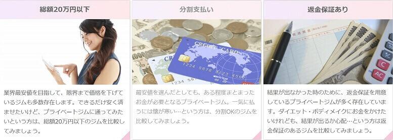 gyme お金